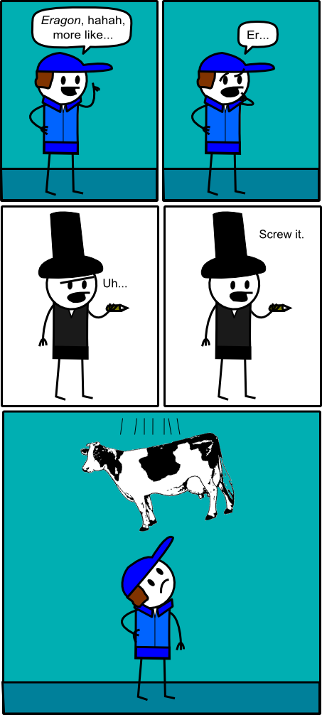 Drop The Cow